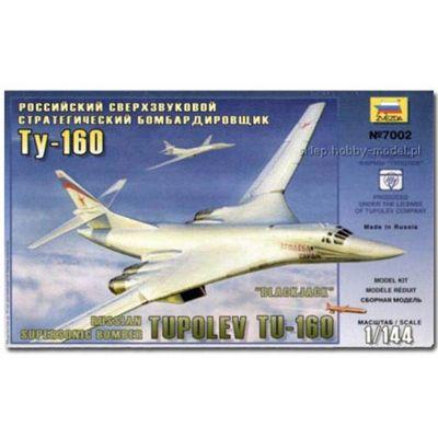 Zvezda 7002 Tupolev Tu160 Superson Model Kit 1:144