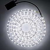 8m White LED Rope Light