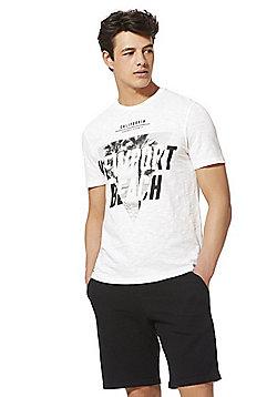 F&F Newport Beach Graphic T-Shirt - White
