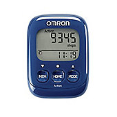 Omron Walking Style IV Pedometer Blue