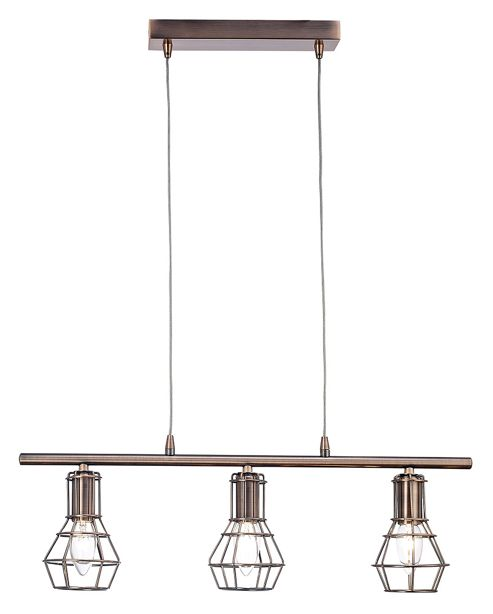 Ceiling Lights Tesco Direct : Buy antique copper pendant ceiling light with cage