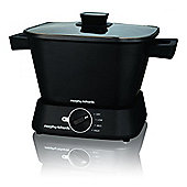 Morphy Richards Square Compact Slow Cooker black