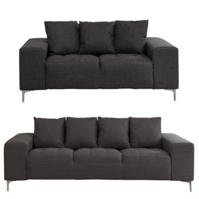 Sofa Collection Providence 2 seat Sofa - Dark Grey