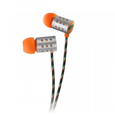 Marley Midnight Ravers Earphones 3-Button Microphone (Sun)
