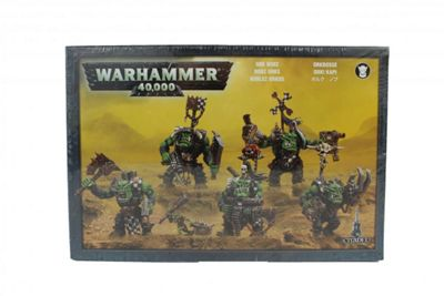 Warhammer Ork Nobz Model Kit