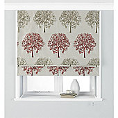 Riva Home Oakdale Red Roman Blind - 61x137cm