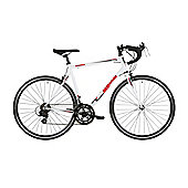 Barracuda Corvus 700c 14spd Alloy Road Racing Bike 53cm White