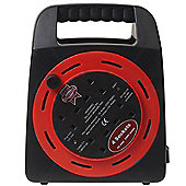 Faithfull Power Plus Easy Cable Reel 240 Volt 20 m. 10A 4 Socket
