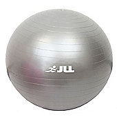JLL Fitness Gym Ball - 55cm - Silver