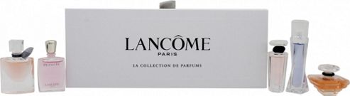 Lancome Collection De Parfums Miniatures Gift Set 5ml EDP Hypnose + 4ml EDP Vie Est Belle + 7.5ml Tresor + 5ml EDP Tresor In Love + 5ml EDP Miracle