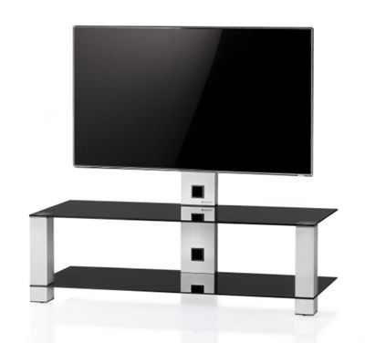 Sonorous PL 2400-B-INX Cantilever TV Stand