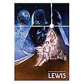 Star Wars Personalised Retro Art Film Posters