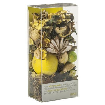 Tesco Zesty Lime & Fig Pot Pourri