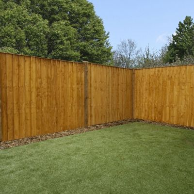 Mercia Feather Edge Fence Panel 5ft Dipped