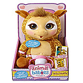 Animal Babies Nursery Deluxe Plush Baby Giraffe