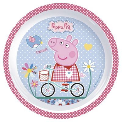 Peppa Pig Melamine set  sc 1 st  Tesco & Buy Peppa Pig Melamine set from our Dinner Sets range - Tesco