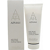 Alpha-H Age Delay Hand & Cuticle Care Cream 100ml