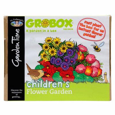 Mr Fothergill's GroBox - Easy-to-Sow Children's Flower Garden