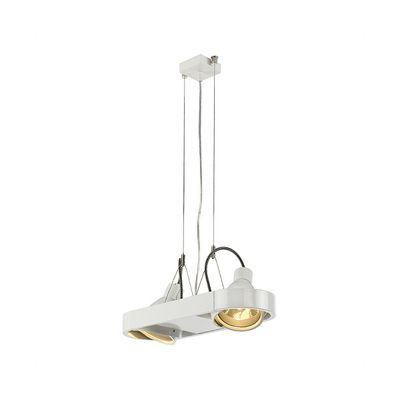 Aixlight Duo Pendant Light Round White 2X70W Without Reflector