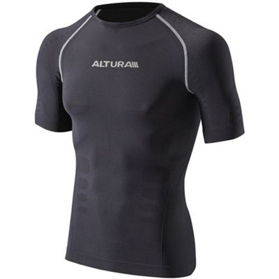 Altura Second Skin SS Base Layer Grey Size: S/M