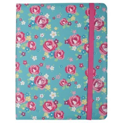 Trendz iPad Blue Rose Case