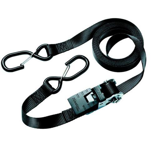 Masterlock M/lock MLK3066E Ratchet Tie Down + Hooks - 4.25m, Pack of 2