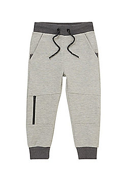 F&F Panel Zip Joggers - Navy