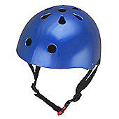 Kiddimoto Helmet - Metallic Blue - Medium