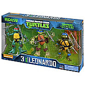 Teenage Mutant Ninja Turtles Leonardo 3 pack Action Figures
