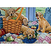 Playful Puppies Puzzle