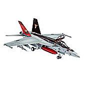 F/A-18E Super Hornet 1:144 Scale Model Kit - Hobbies