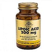 Solgar Alpha Lipoic Acid 200mg Vegicaps 50