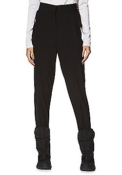 F&F Active Skinny Ski Pants - Black