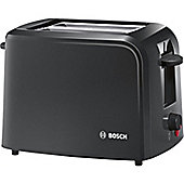 Bosch TAT3A0133G 2 Slice Village Toaster - Black