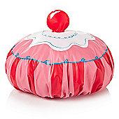 Cupcake Shower Cap - Pink