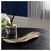 Fox & Ivy Gold Feather Trinket Tray