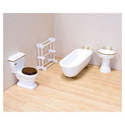 Melissa & Doug Wooden Bathroom Furniture