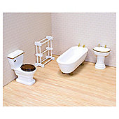 Melissa & Doug Wooden Bathroom Furniture