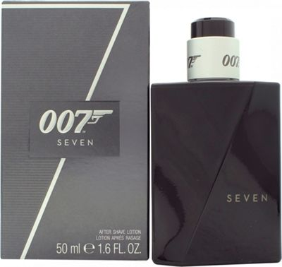 James Bond 007 Seven Aftershave 50ml Spray For Men