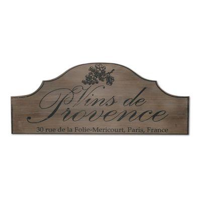 Novus Imports Vins De Provence Board Metal Wall Art