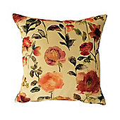 McAlister Floral Velvet Cushion Cover - Soft Touch 43cm
