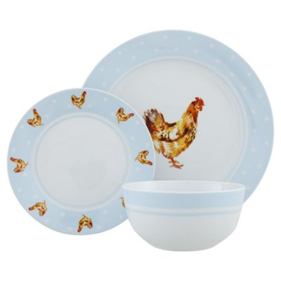 Tesco Chicken 12Pc Dinner Set  sc 1 st  Tesco & Buy Tesco Chicken 12Pc Dinner Set from our Dinner Sets range - Tesco