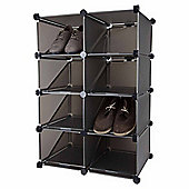 Pristine Interlocking Shoe Rack Storage Organiser