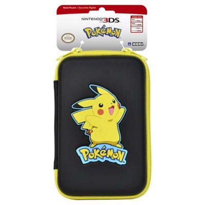 Hori Nintendo 3DS Pikachu Hard Pouch Black