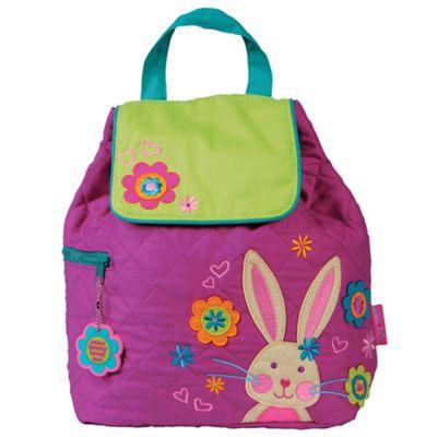 Toddler Backpacks, Kids Backpacks, Children's Quilted Backpack - Bunny Rabbit
