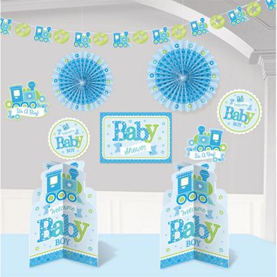 Welcome Baby Boy Room Decorating Kit