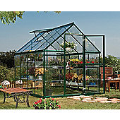 Palram Harmony 6x8 - Green Greenhouse - Polycarbonate and Aluminium Frame