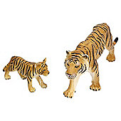 Realistic Bengal Tiger and Cub Figurine Toys by Animal Planet