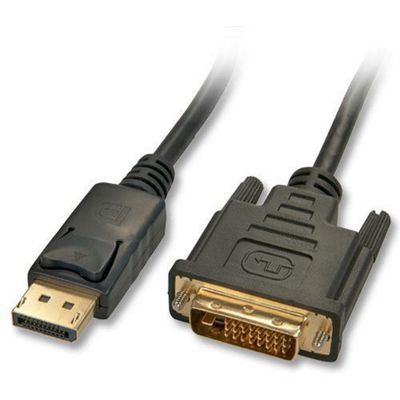 Lindy 3m DisplayPort to DVI-D Cable Black