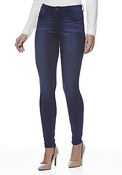 JDY Distressed Stretch Skinny Jeans - Dark wash